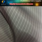 Colores oscuros que alinean la tela, guarnición del poliester, guarnición de Striple (S32.33)