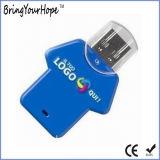 Azionamento dell'istantaneo del USB della maglietta di sport in plastica (XH-USB-138)