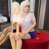 Muñeca americana de la muchacha de la fábrica del sexo del silicón al por mayor del juguete