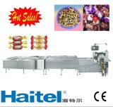De nieuwste Machine van de Verpakking van de Draai voor Chocolade en de Chocolade van de Deklaag