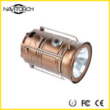 이중 재충전 이중 빛난 방법 태양 야영 손전등 (NK-168)