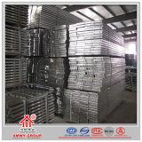 El metal galvanizado Steelplank/prolongación del andén/escala de Rápido-Ensambla