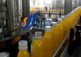 びん詰めにされたジュースの生産ラインを完了しなさい