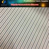 ポリエステルヤーンのスーツのライニング(S157.158)のための染められた縞ファブリック