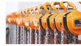 Блок Hsz-C цепной, поднимаясь оборудование, ручная таль с цепью, ручные резцы, ручная цепь, ручной подъем 0.5t-10t крана