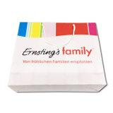 Bolsa de papel de encargo promocional del regalo de las compras