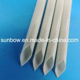 Стеклоткань силиконовой резины Coated высокотемпературная Sleeving для электрической изоляции