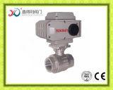 2PC robinet à tournant sphérique fileté par femelle de l'usine Ss301 1000psi