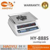 elektronische Gewichtung 888s, welche die Schuppe wiegt Anzeiger zählt