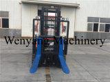 carretilla elevadora diesel accionada 3.5ton del carro de paleta del motor con la fork pesada