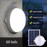 2016 신제품 60 LED 원격 제어 지능적인 옥외 정원 빛 태양 천장 벽 램프 실내 가정 빛