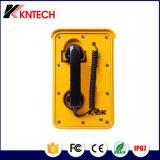 Telefono impermeabile di VoIP, telefono impermeabile impermeabile ed antipolvere di protocollo di SIP del telefono di rete della porta