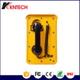 VoIPの防水電話、SIPのプロトコル防水およびちり止めの電話ネットワークポートの防水電話
