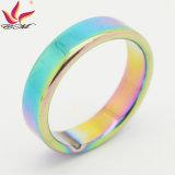Htr-001A anel de moda de jóias magnéticas coloridas de 6 mm