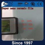 Indicador de controle UV99 solar que matiza a película cerâmica Nano do IR