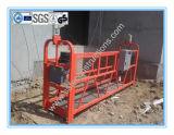 Plataforma suspendida acero durable seguro para la construcción