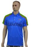 Дешевой напечатанные таможней рубашки пола комбинации цвета для людей (P007)