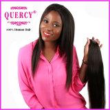 Cabelo reto de seda por atacado, extensão 100% do cabelo humano do Virgin de Remy