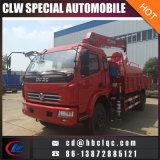 Grue de Loder de camion du camion 6ton de grue de réservoir d'eau de fabrication