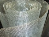 Treillis métallique carré galvanisé par électro de fer