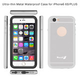Cas mobile imperméable à l'eau avec la couverture arrière en métal pour l'iPhone 6 5.5inch positifs (RPTMLPRO-6P)