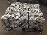 Prensa de la poder de aluminio/embaladora de aluminio del desecho para reciclar la fábrica