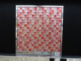 Recepção Decoração Red Color Crackle Glass Mosaic (G815011)