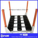 Auto-materieller Zahnstangen-Regal-Stapel