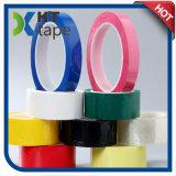 cinta adhesiva de acrílico de Mylar del animal doméstico 130c del verde a prueba de calor de la película