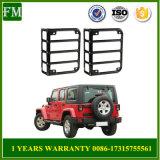 Wrangler negro del jeep de los ajustes de los accesorios del coche de la cubierta de la luz trasera