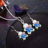 卸し売り最も新しいデザインかわいいスノーマンの宝石類はクリスマスのためにセットした