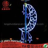 Eclairage imperméable LED Ramadan Eid Pole Street Light pour décoration extérieure