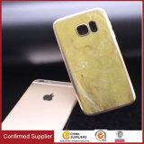 Caso di marmo molle del coperchio del telefono mobile di colore di TPU per Samsung