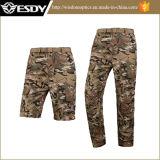 Camuflar de escalada das calças dos esportes da pesca seca rápida UV ao ar livre da proteção
