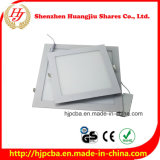 Luz de painel magro do diodo emissor de luz do Sell quente 3-24W para interno