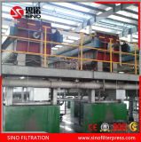 Machine à haute pression programmée de filtre-presse de membrane de pp