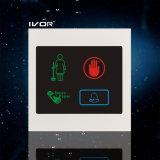 El panel al aire libre del sistema del timbre del hotel en el marco de acrílico del esquema (SK-dB100S4)