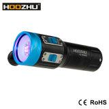 Hoozhu V13 Video-Licht des Tauchens-Lampen-maximales Tauchens-2600lumens