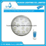 LED de luz LED piscina PAR56 RGB 9W / alta potencia de 27W LED PAR56 Thinckness Glass