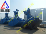 15cbm 25tはローディングの石炭の鉱石の砂のミネラル粉肥料のためのタイプグラブを切る