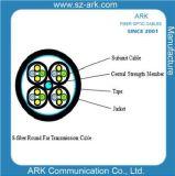Arche lointaine ronde optique de câble de la boîte de vitesses 8-Fiber de fibre