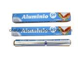 Чистый и непахучий 8011 крен алюминиевой фольги закала 0.011*305mm o