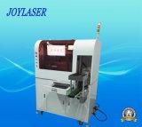 Máquina automatizada de marcação a laser de fibra óptica para lâmpadas LED