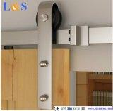 Copier l'acier inoxydable glissant le matériel de porte de grange (LS-SDU 004)