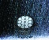 정원을%s 새로운 방수 DMX 14X18W RGBWA+UV 옥외 LED 동위