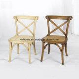 Kreuz-rückseitige hölzerne Kinder, die Stuhl (RCH-4001-11, speisen)