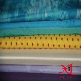 tela impermeable de nylon de la impresión 15D para abajo la chaqueta/el Windbreaker ligero