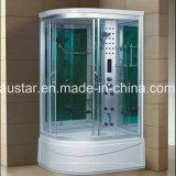 sauna do vapor do setor de 1200mm com banheira e chuveiro (AT-G1285AF)