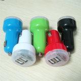 자동차를 위한 이중 USB 차 충전기 두 배 차 충전기