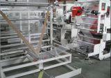 PET seitliche Dichtungs-heiße Dichtungs-Plastiktasche, die Maschine herstellt